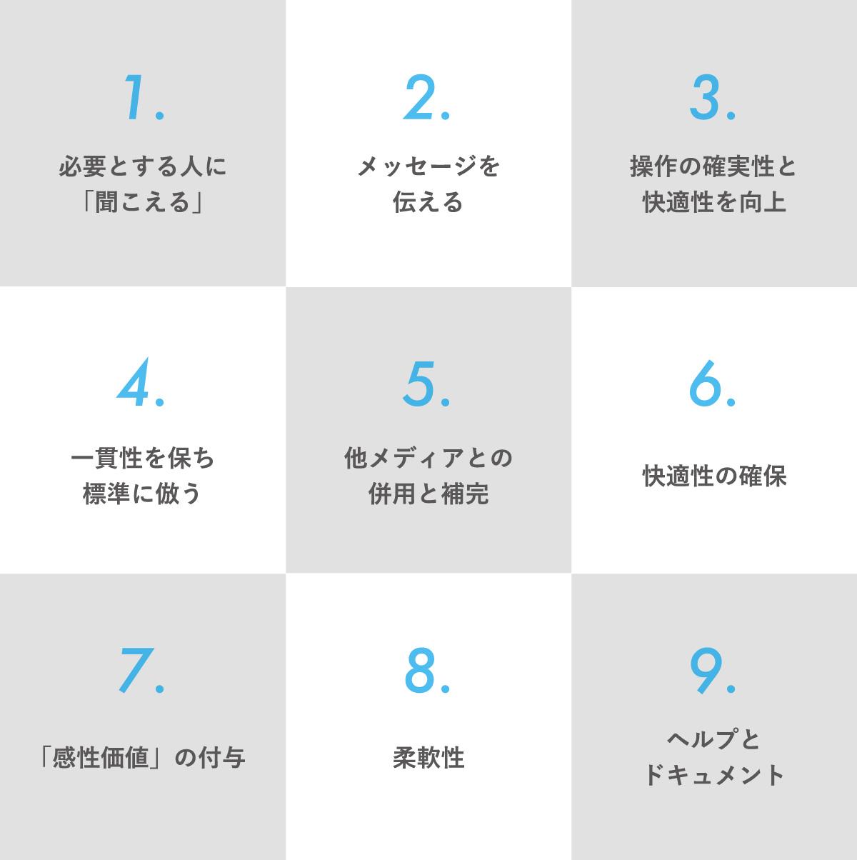 UIサウンド9原則